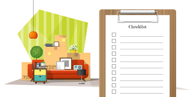 The moving checklist